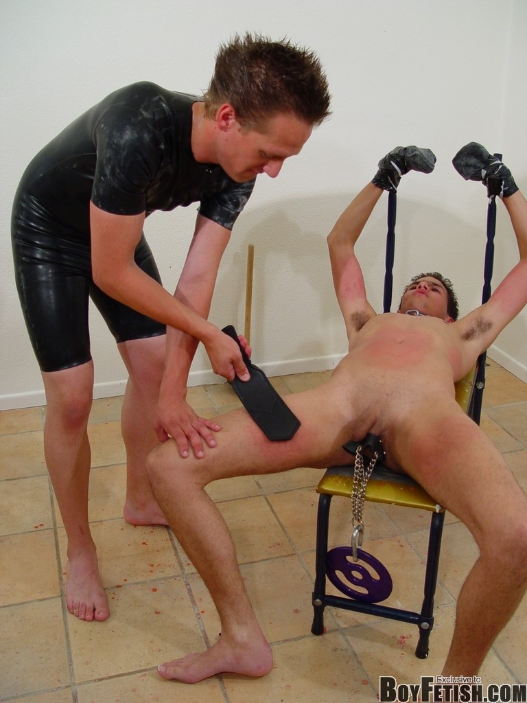 image Teen boy bondage hard gay the boy is