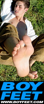 male feet